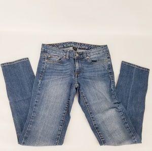 CALVIN KLEIN Womens 0 / 25 Skinny Jeans